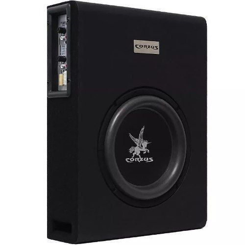 Caixa Slim Amplificada 3 Canais 350w Cxs303 Corzus
