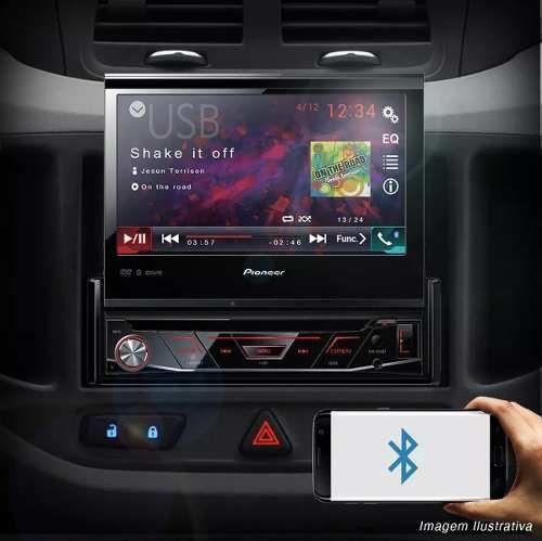Dvd Player Pioneer Avh-3180bt Bluetooth Usb