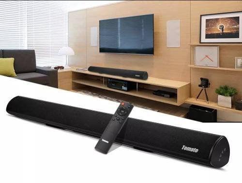 Caixa De Som Soundbar Bluetooth Usb Aux 120w Rms - Mts-2018