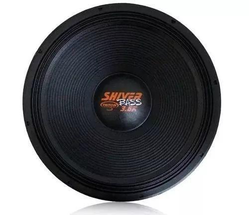 Alto Falante Woofer Triton Tr Bass 3.6k 18 Pol 1800w Laranja