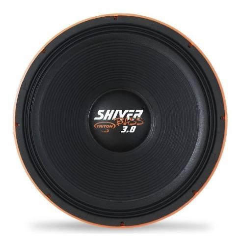 Woofer Shiver Bass 3.8 1900watts Rms/18 Pol Lançamento