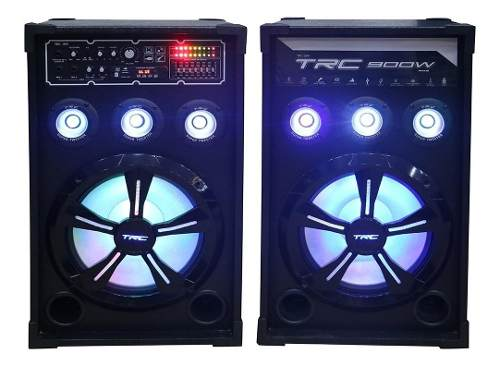 Caixa de Som Dupla Ativa e Passiva 900 W TRC 399