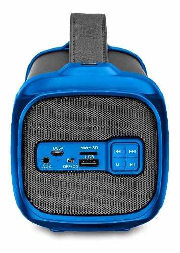 Caixa De Som Multilaser Sp351 Bazooka 70w Bluetooth Rádio Fm