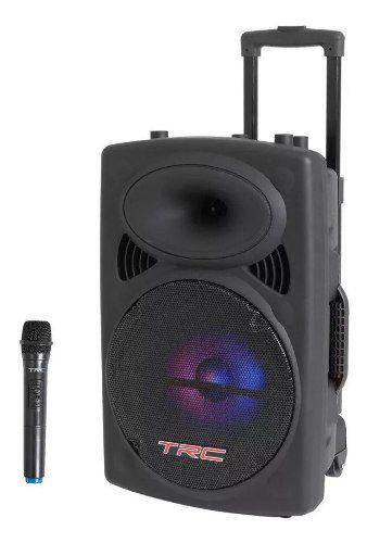 Caixa de Som TRC 536 480 W Portatil Bluetooth FM USB