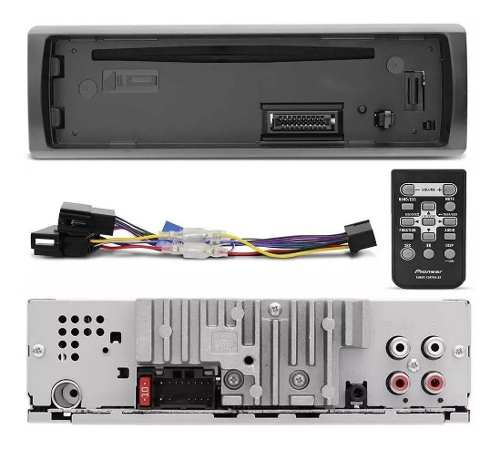 Cd Mp3 Player Pioneer Deh-s1280 Usb 4 Saída Rca
