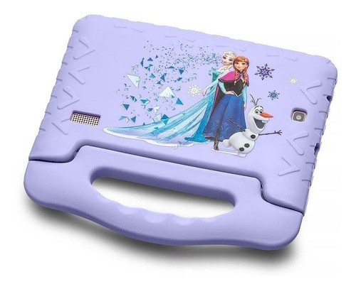 Tablet Com Capa Multilaser Disney Frozen Plus 7 16gb Azul-claro Com Memória Ram 8gb