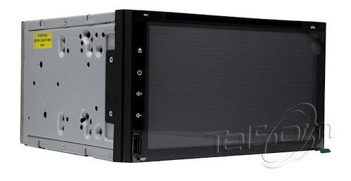 Multimídia Android Universal Gps Dvd C/ Tv 2gb Ram Câmera R AVD-6955