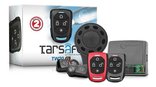 Alarme Taramps TW20- Tarsafe Sirene Sem Fio