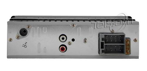 Auto Radio Bluetooth Usb + Pen Drive 8gb P3334p Multilaser