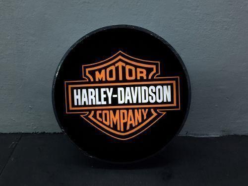 Luminoso / Luminária Parede Bar Com Led- Harley Davidson