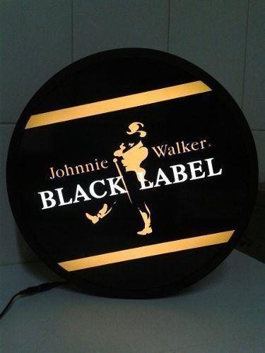 Luminoso / Luminária Parede Bar Com Led- Black Label