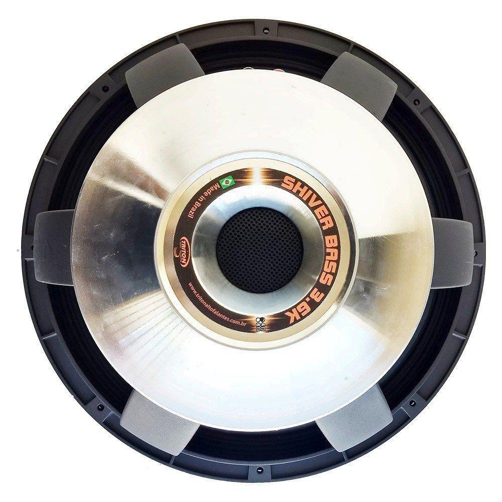 Alto Falante Woofer Triton 15 Pol 1800w Rms Shiver Bass 3.6k