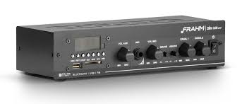 Amplificador Receiver Frahm Slim 1600 App Multi Channel