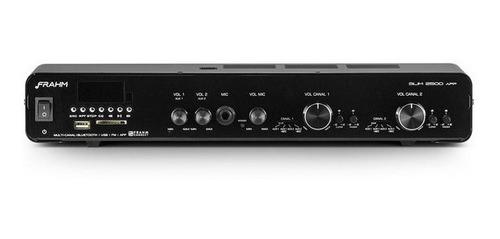 Amplificador Receiver Frahm Slim 2500 G3 Ap Bluetooth Usb Fm