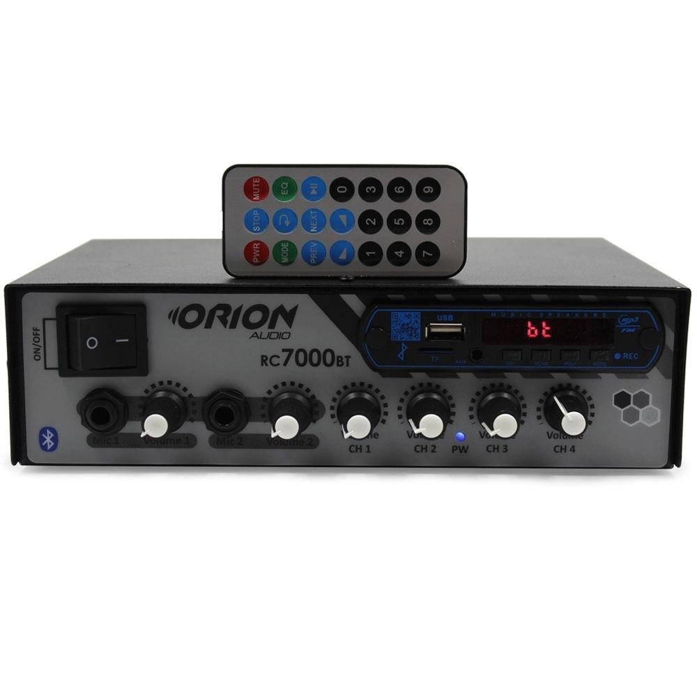 Amplificador Receiver Rc7000 Bt Orion