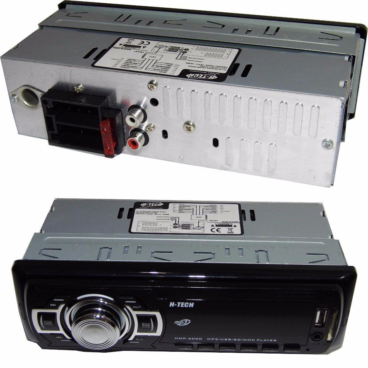 Auto Radio H-tech Hmp-2000 Usb-sd-aux