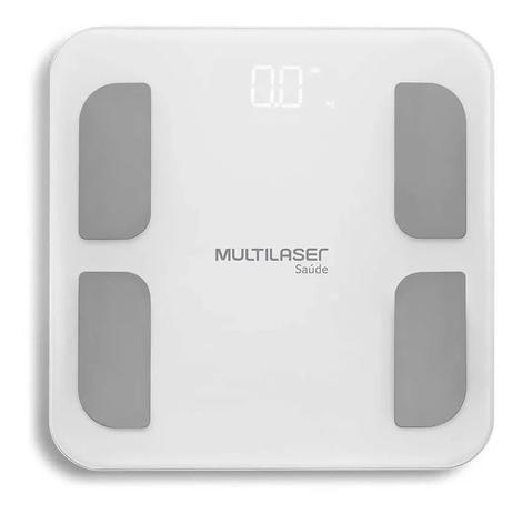Balanca Bioimpedancia Bluetooth Multilaser