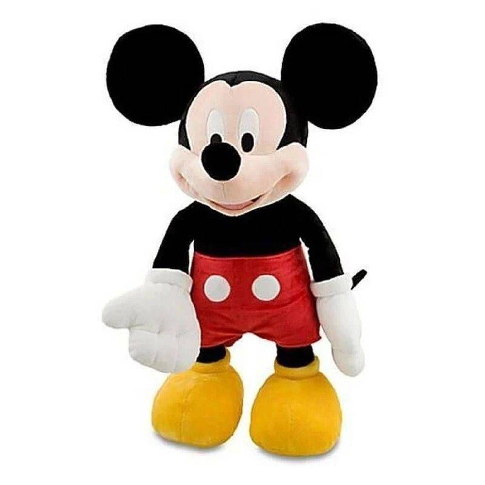 Boneco Pelúcia Mickey Mouse 33cm Com Som