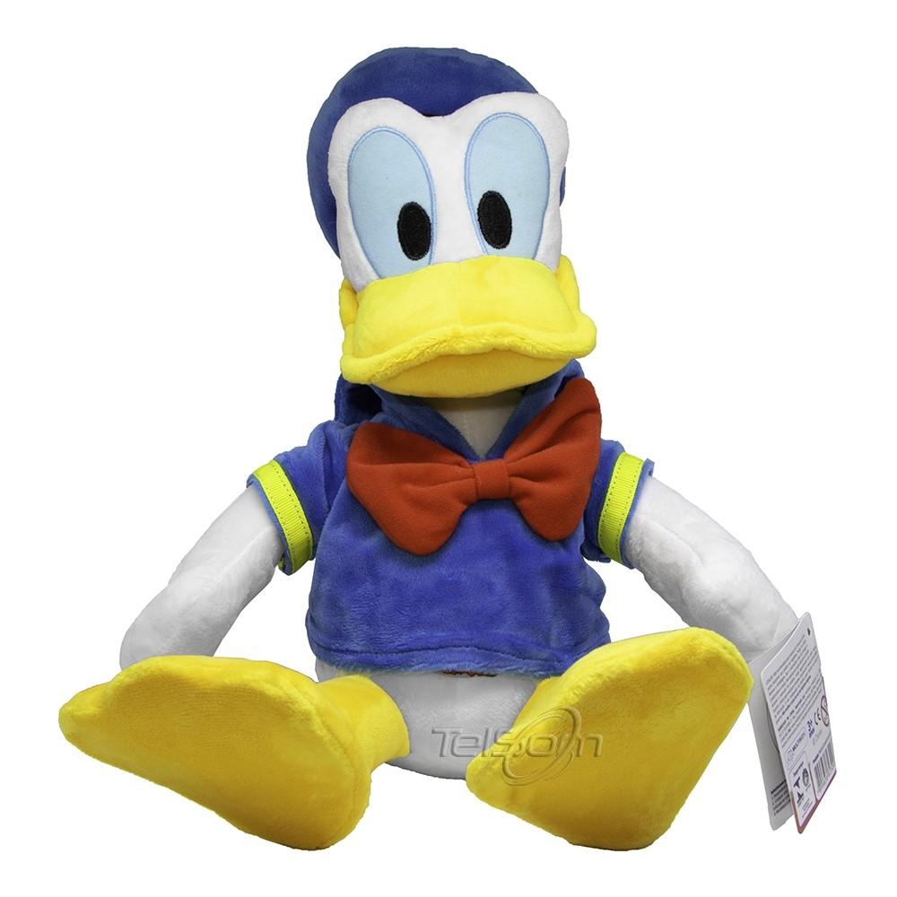 Boneco Pelucia Pato Donald C/Som BR334