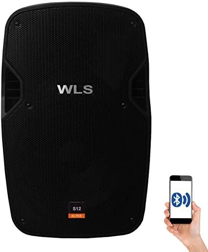 Caixa ACústica WLS S12 Ativa com Bluetooth
