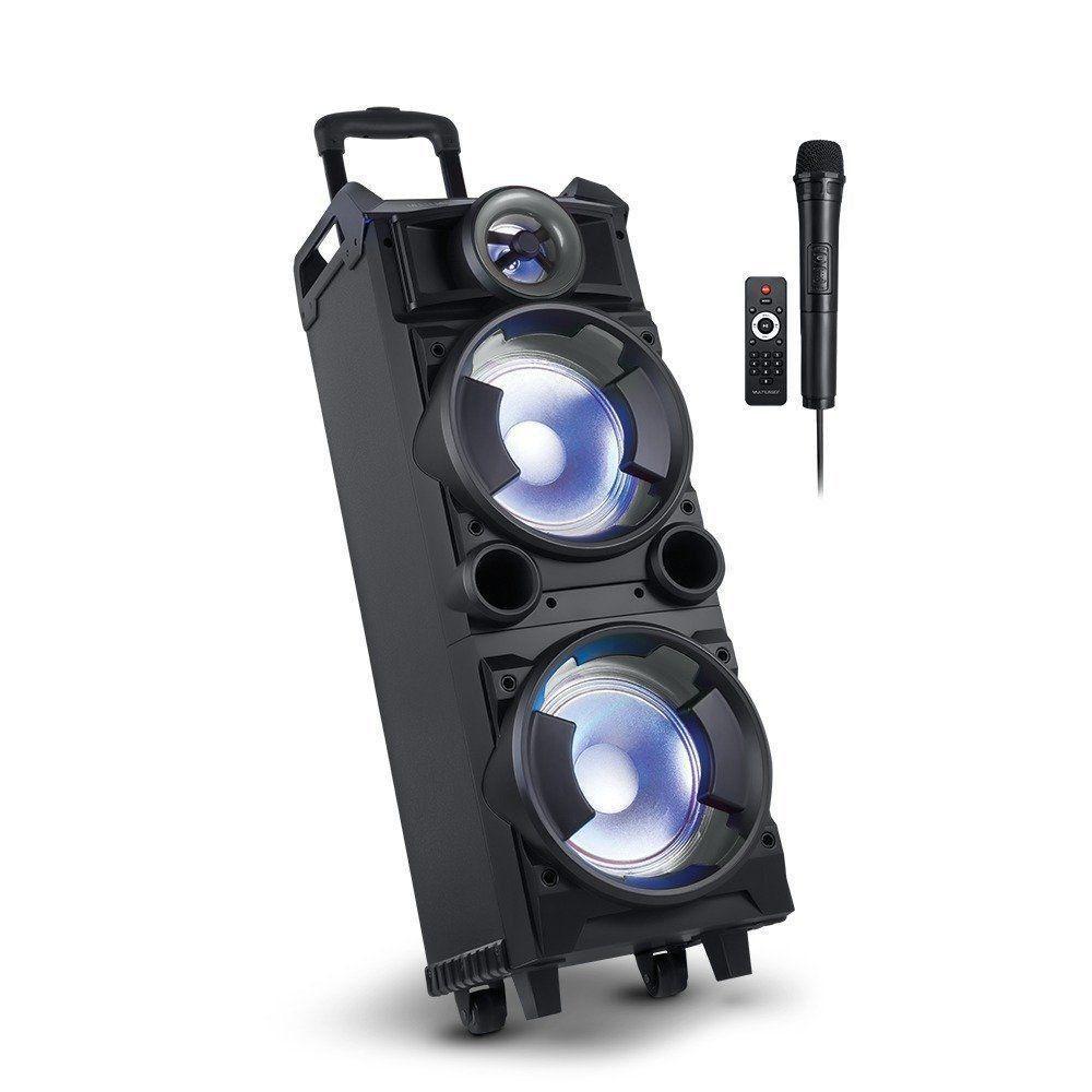 Caixa De Som 300w Rms Bluetooth Usb Karaokê Multilaser Sp282