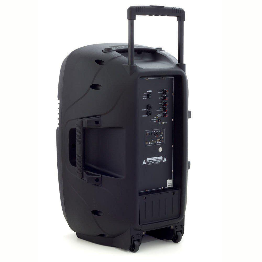 Caixa de Som Amplificada SP 220 Multilaser 300 Wats Rms
