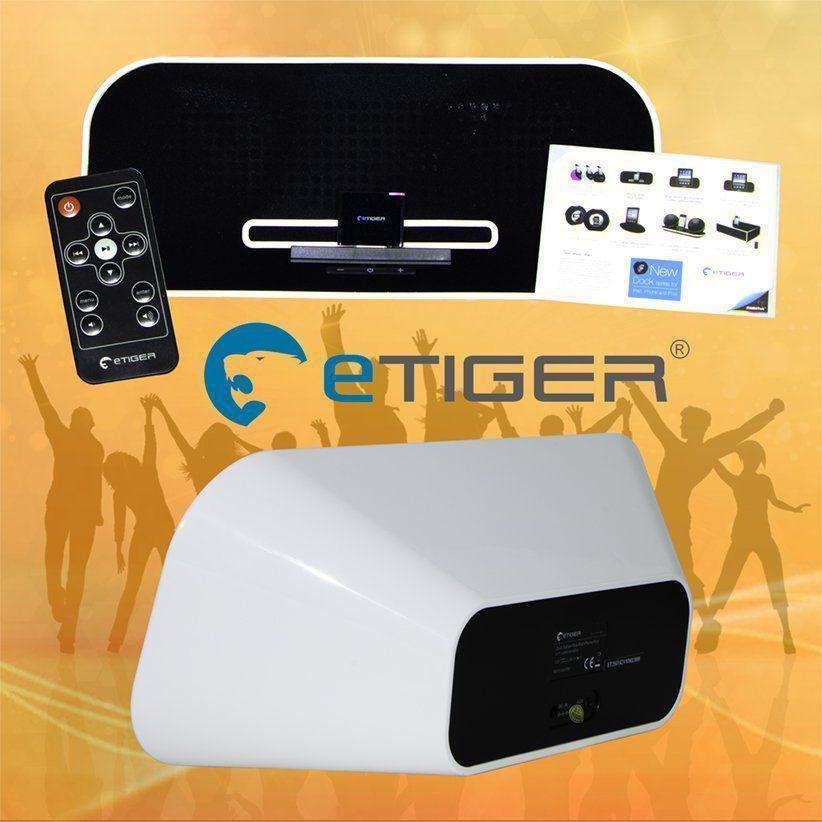Caixa De Som Bluetooth Com Controle Remoto - Etiger - 142et