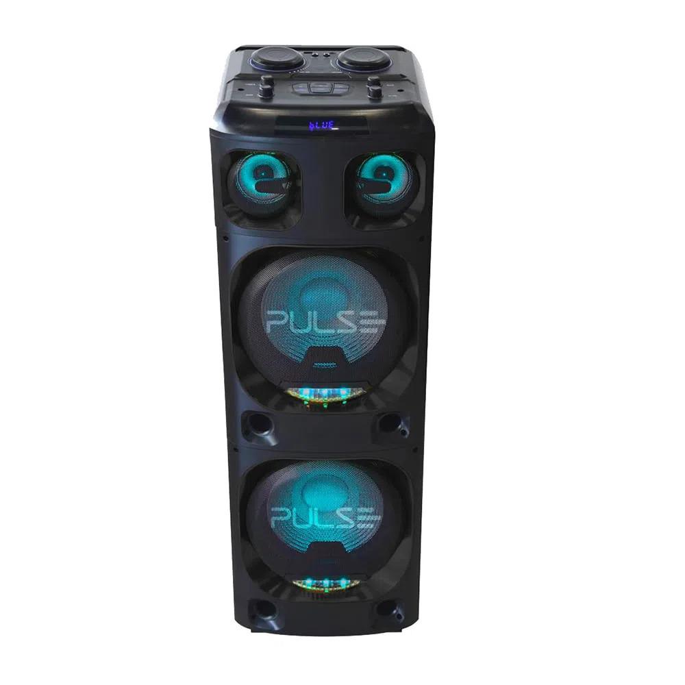 Caixa de Som Super Torre Double 15 4000W Pulse - SP1000