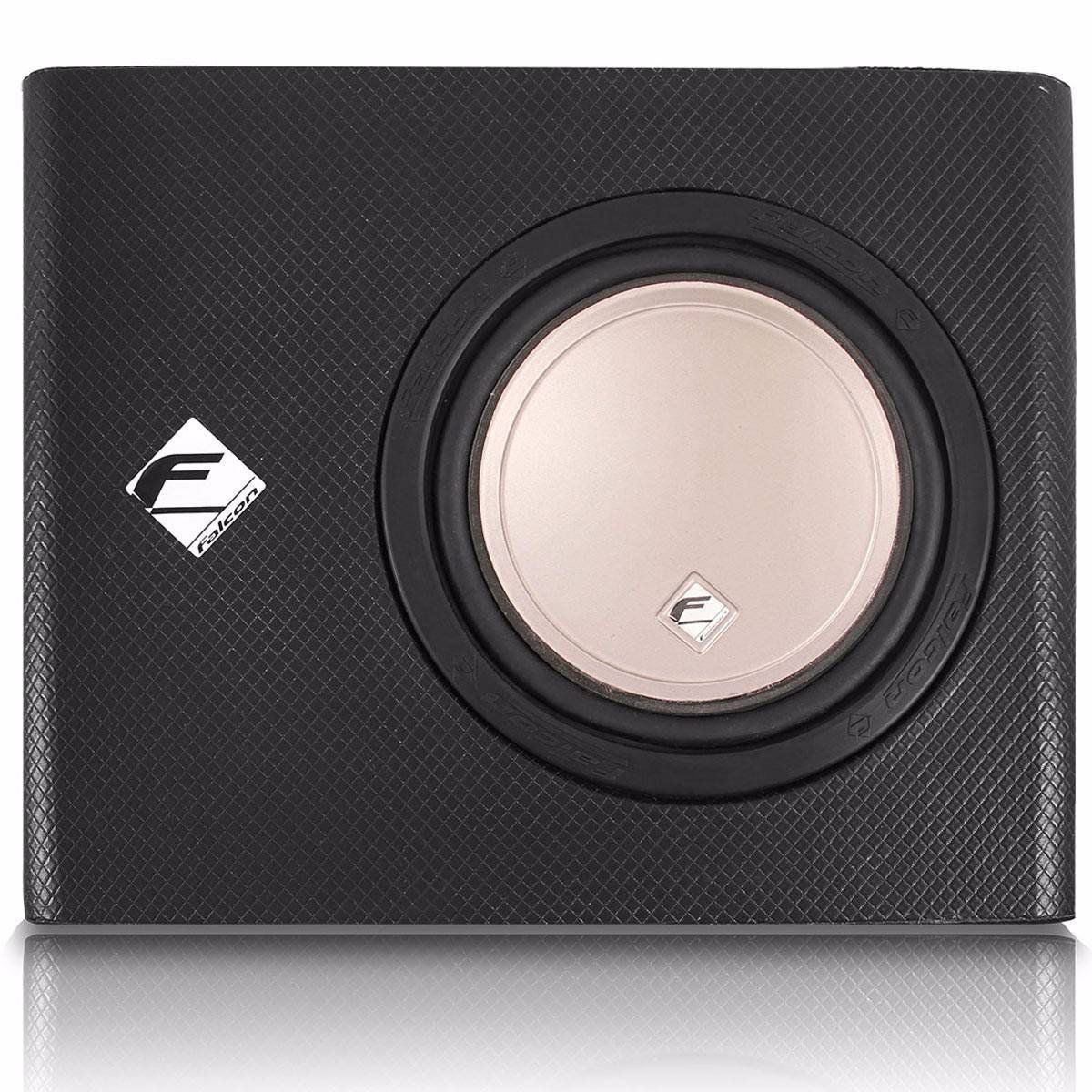 Caixa Falcon Slim Amplificada X200-200 Wats Rms 12 Polegadas