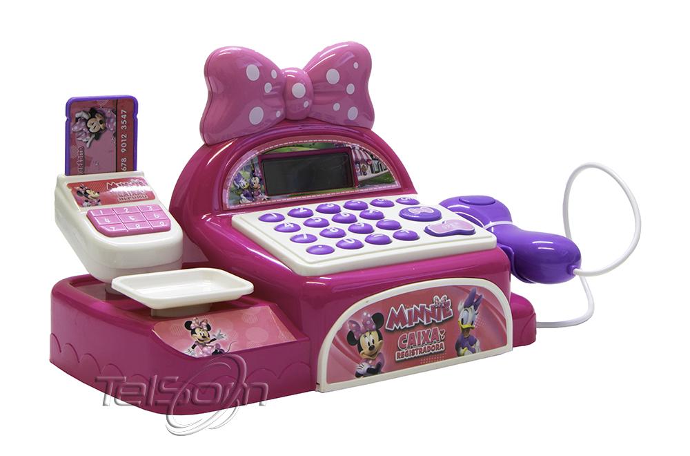 Caixa Registradora Minnie Mouse Multikids