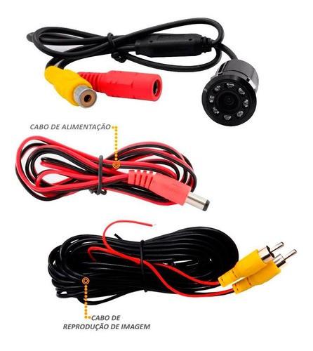 Camera De Re Infra Vermelho (visão Noturna) Prova D'água CR300