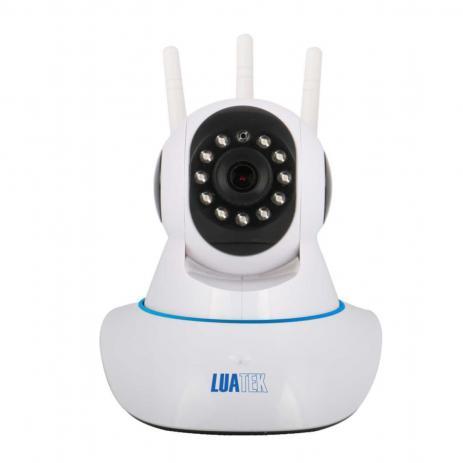 Câmera Ip Wireless Com Visão Noturna Luatek Lkw-1310 V
