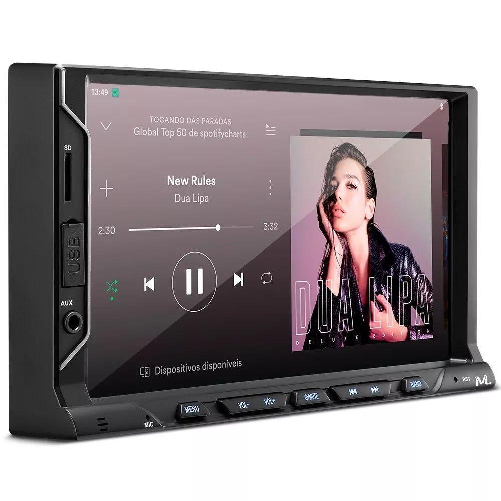 Mp5 Multilaser Evolve Fit S USB - AUX - Bluetooth