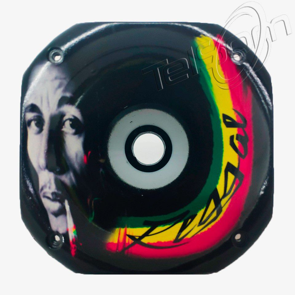 Cone Curto para Drivers rosca Grafitado Bob Marley