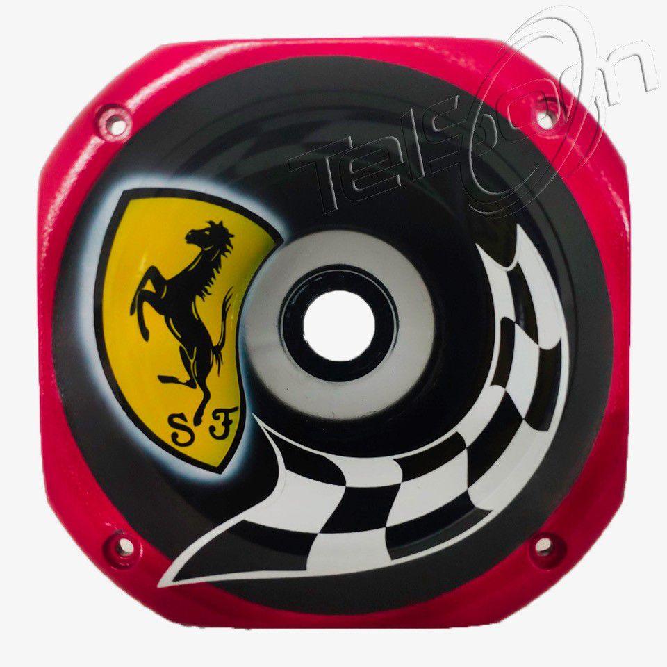 Cone Curto para Drivers rosca Grafitado Ferrari Vermelha