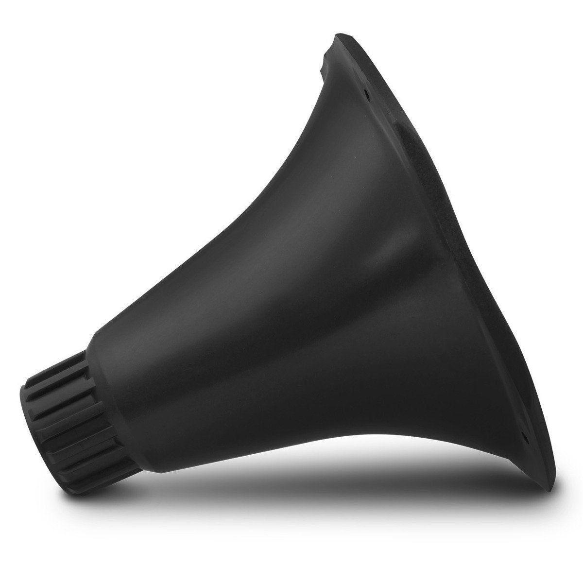 Cone Curto Plastico Preto Rosca
