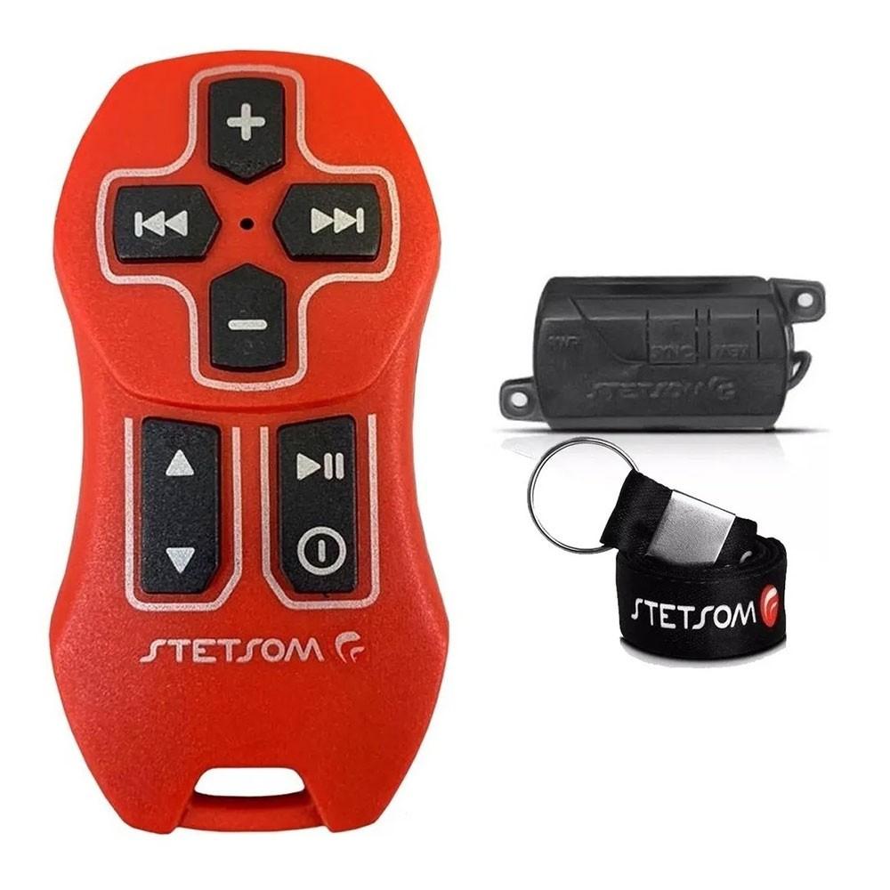 Controle Longa Distancia Stetsom Sx2 Vermelho Completo