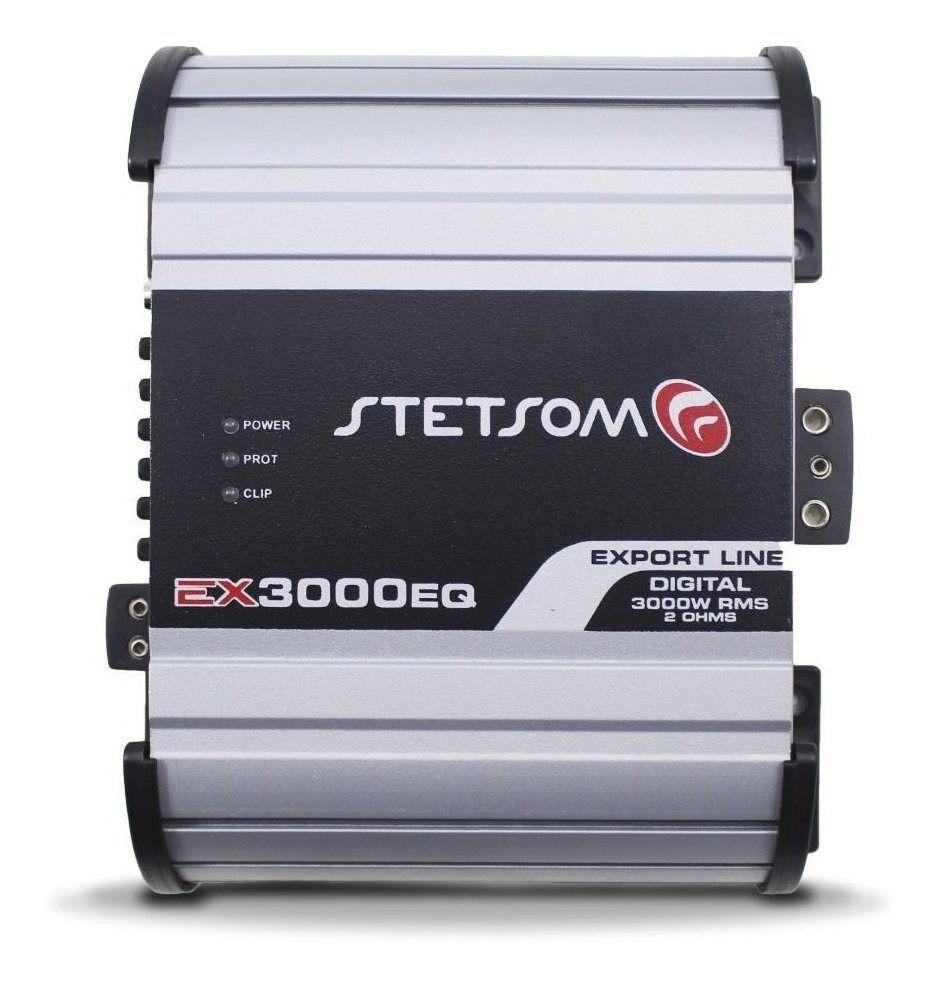 Modulo Amplificador Stetsom Ex 3000 Eq Mono 1 ohms