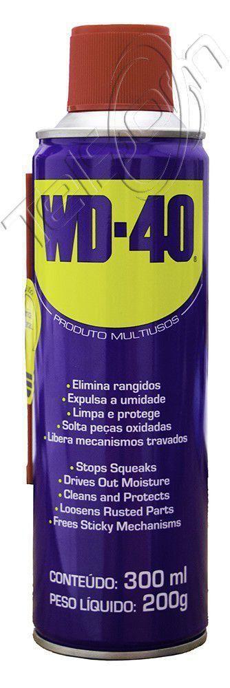 Desingripante Oléo Lubrifante Aerosol WD-40 300 Ml Anticorrosivo