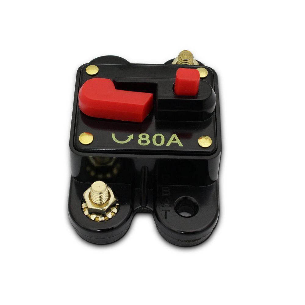 Disjuntor Automotivo 80amp Proteção