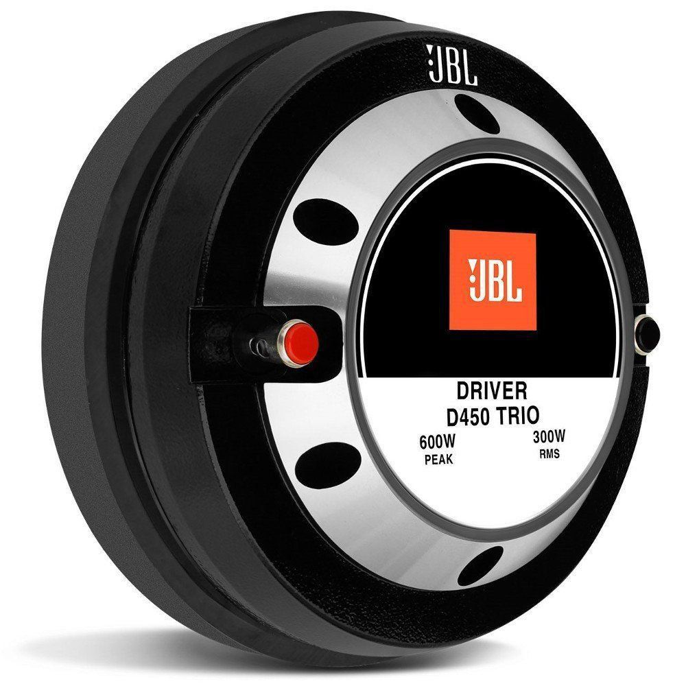 Driver D450 Trio JBL 300 Wats Rms 8 Ohms Diafragma Fenolico