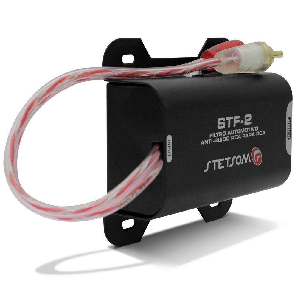Filtro Anti Ruido Stetsom Supressor Rca Stf-2 Som Automotivo