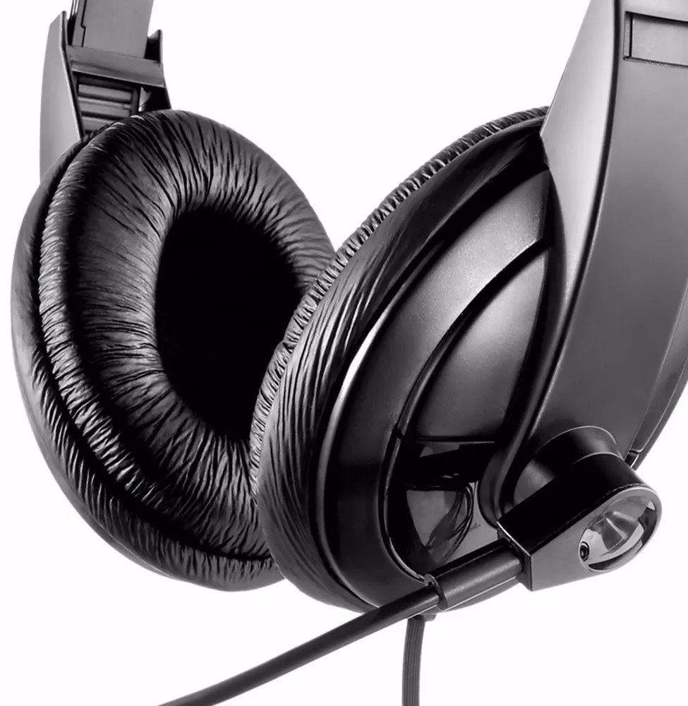 Fone de Ouvido Headset Giant Usb Multilaser PH245