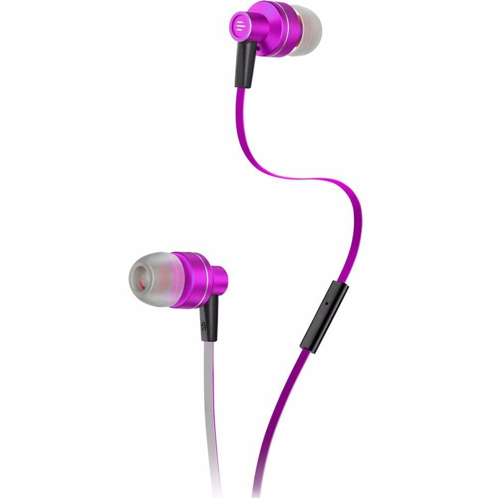 Fone Ouvido Auricular Pulse Rosa/branco Multilaser Ph155