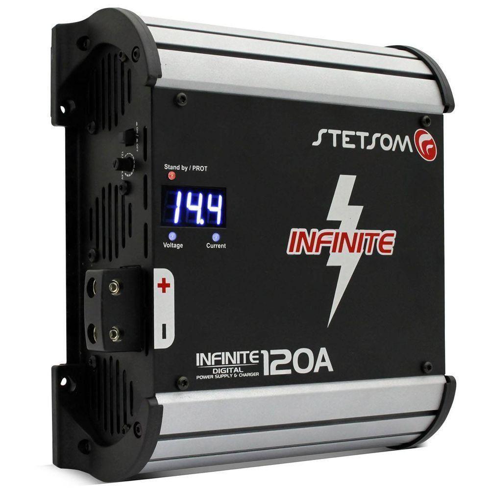 Fonte Stetsom Infine 120 A 14.4 V Carregador de Bateria Bivolt com Voltimetro