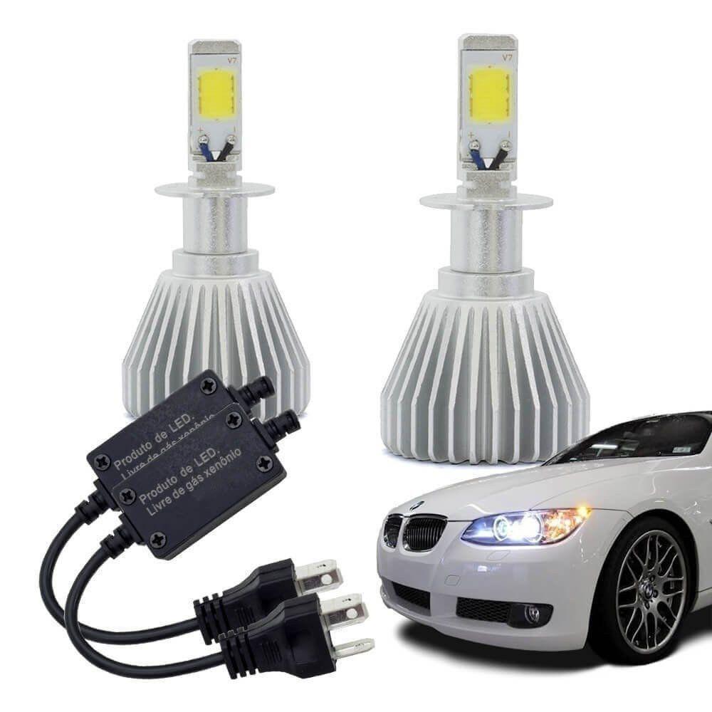 Kit Lâmpada Multilaser Super Led Headlight H3 6200k 12v Efe