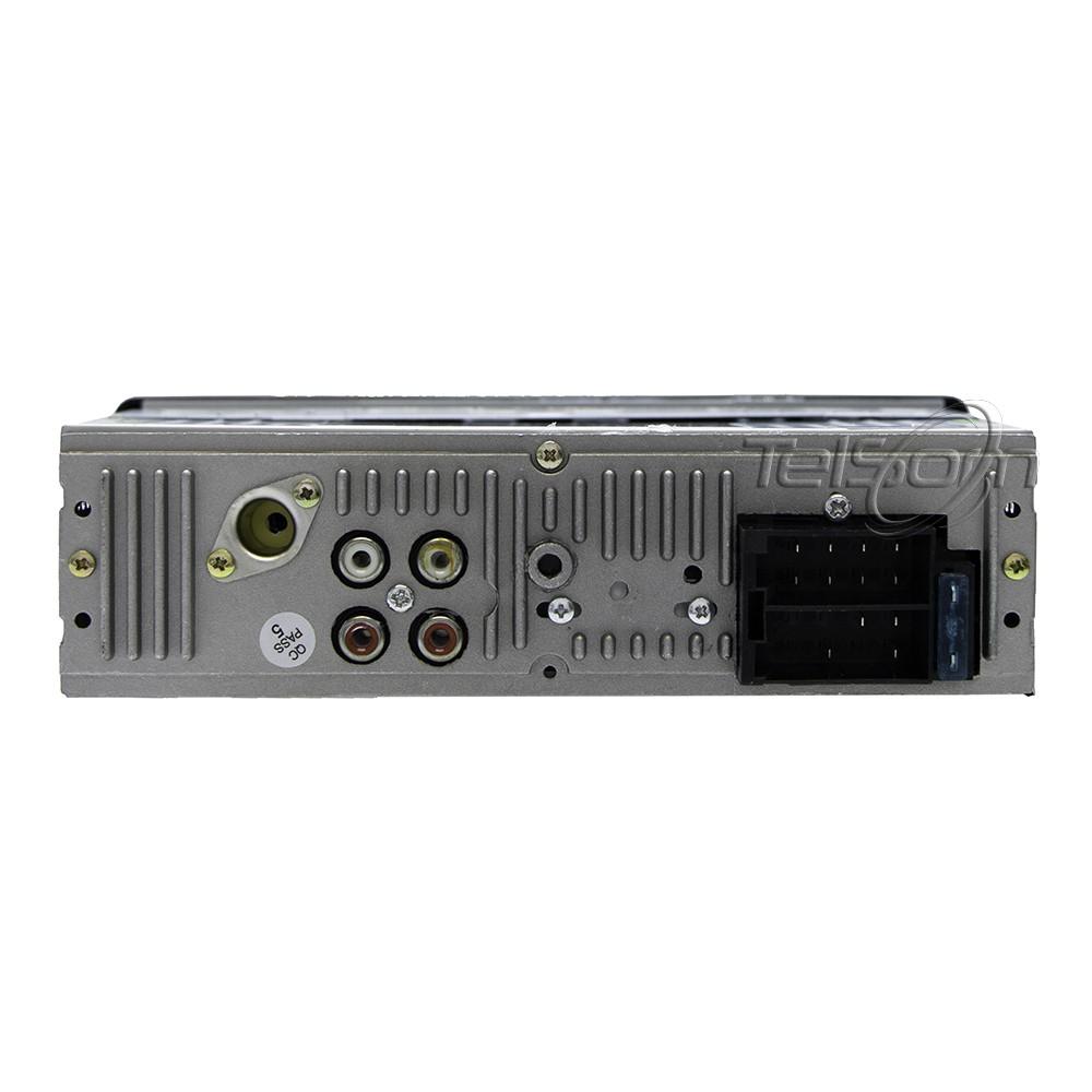 Kit Prático Hurricane Rádio Hr-425bt + 4 Fal 6 Pol 260w Gold