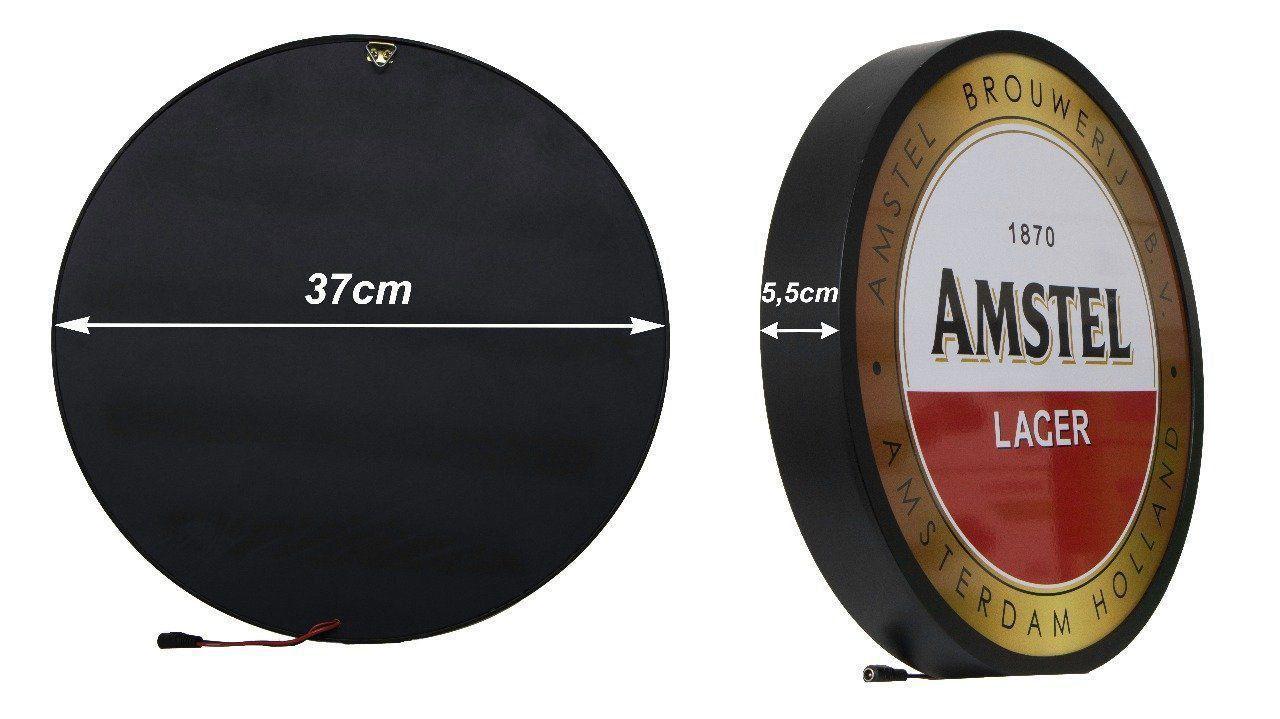 Luminoso / Luminária Parede Bar Com Led- Amstel Beer