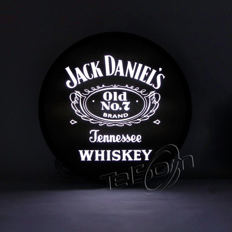 Luminoso / Luminária Parede Bar Com Led- Jack Daniels