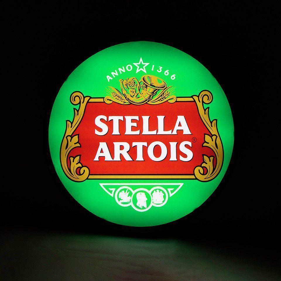 Luminoso / Luminária Parede Bar Com Led- Stela Artois